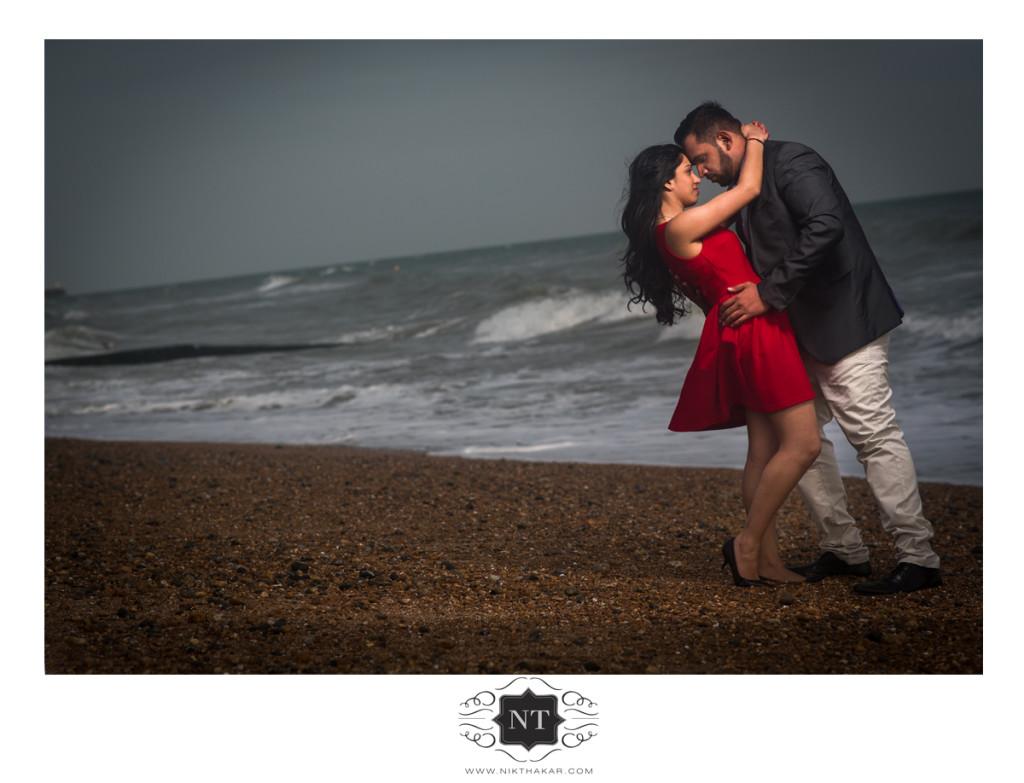 Sunset wedding photography by nik thakar
